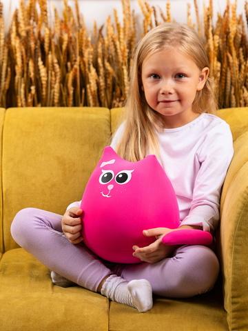 Подушка-игрушка «Кошечка Мини Коралл»-2
