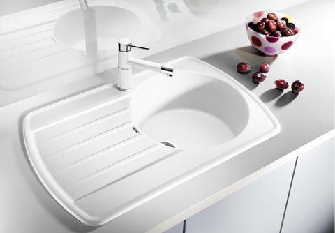 Мойка кухонная Blanco Rondoval 45S Белый