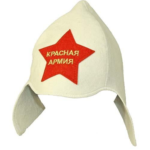 Будёновка Красная Армия (белая)