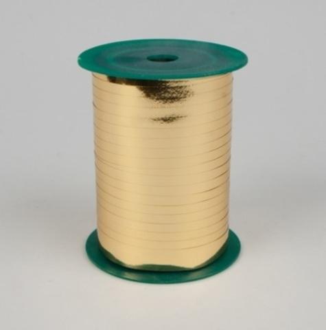 Лента металл на бобине Plastiflora (размер: 5мм х 250ярдов) Цвет:золотой