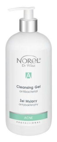 *Антибактериальный очищающий гель (NOREL/ACNE/Professional/500мл/PZ 143)