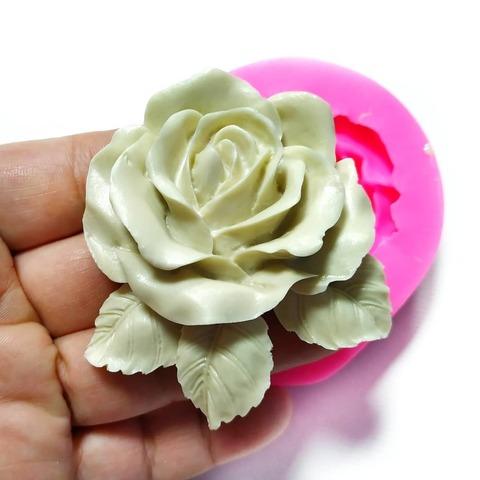 0661 Молд силиконовый Роза большая