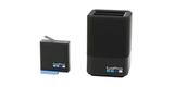 Зарядное устройство для двух аккумуляторных батарей GoPro HERO6/7/8 Dual Battery Charger + Battery (AJDBD-001-EU) с аккумулятором
