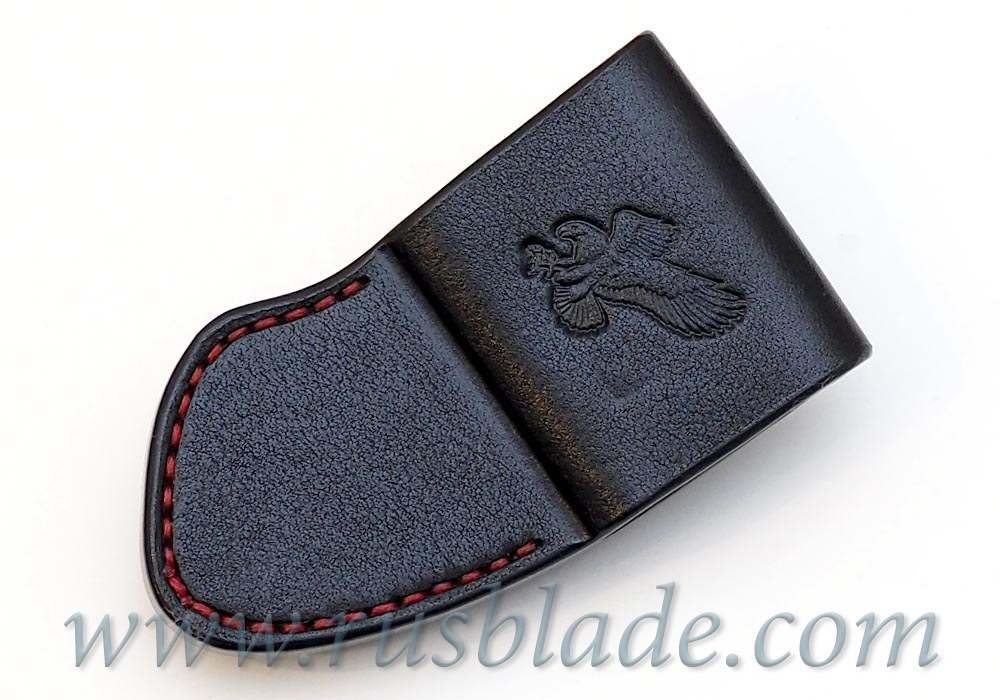 CUSTOM Handmade ZT 0801 Zero Tolerance 0801 Leather Sheath Black - фотография
