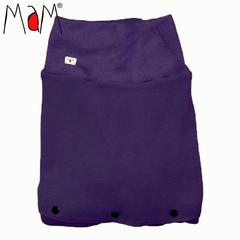 Флисовая слинговставка-накидка для мамы и малыша МаМ Сold Weather Insert, Фиолетовый (Luscious Acai)