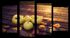 """Модульная картина """"Осенние яблоки"""""""