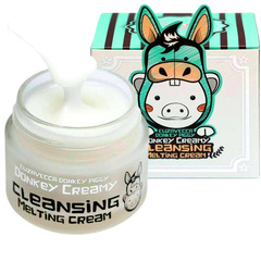 Купить крем для снятия макияжа Elizavecca Donkey Piggy Donkey Creamy Cleansing Melting Cream