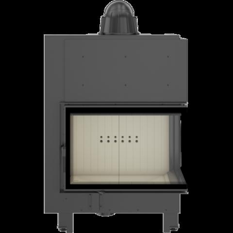 Каминная топка Kratki MBA/P/BS/SG (гнутое стекло) (17 кВт)