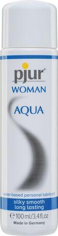 Лубрикант на водной основе pjur WOMAN Aqua - 100 мл.