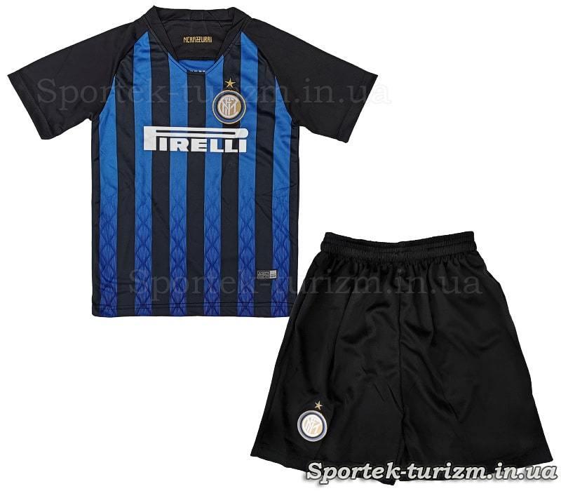 Вид спереди футбольной формы Миланского Интера CO-7299