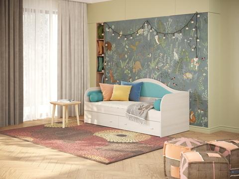 Кровать Райтон Lori с ящиками