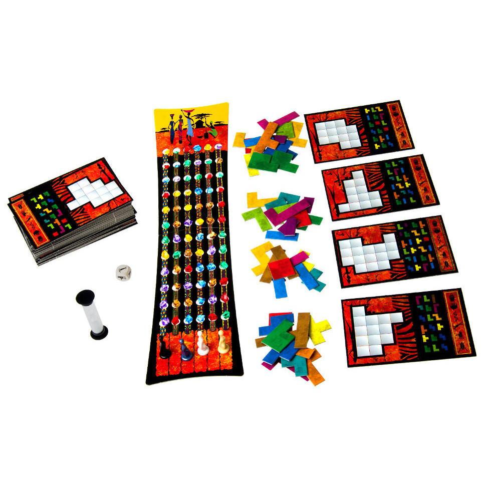 Настольная игра Убонго Ubongo (2-е издание)