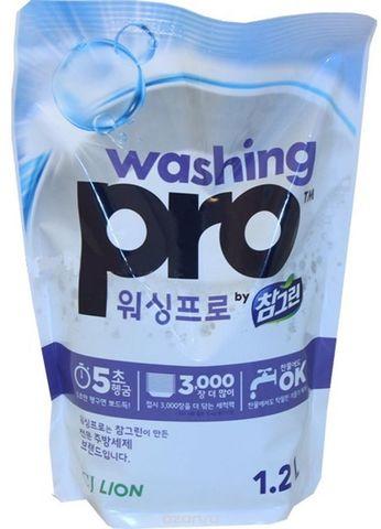 Средство для мытья посуды CJ Lion Washing Pro, 1200мл