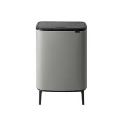 Мусорный бак Touch Bin Bo Hi (2 х 30 л), Минерально-серый