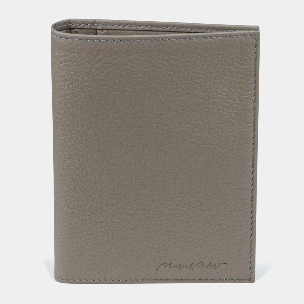Обложка для паспорта и автодокументов Paris Easy из натуральной кожи теленка, цвета мусс