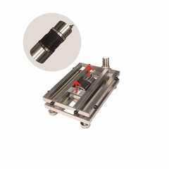 Весы товарные напольные MAS ProMAS PM1HWS-100 4050, RS232 (опция), 100кг, 10/20гр, 400*500, защита IP65, нержавеющая сталь AISI 304, с поверкой, съемная стойка