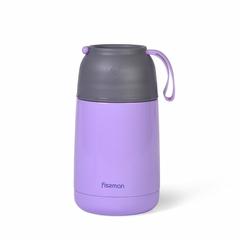 9638 FISSMAN Термос для пищи 620мл (нерж.сталь), цвет Сиреневый