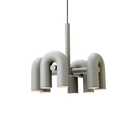 Подвесной светильник Cirkus by AGO Lighting (4 плафона/серый)