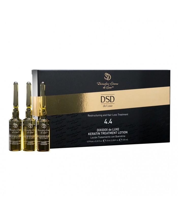 Лосьон восстанавливающий в ампулах DSD De Luxe 4.4 Keratin treatment lotion 10*10мл