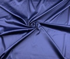 Атлас-стрейч темно-синий Италия (метражом)