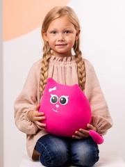 Мягкая игрушка-подушка Gekoko «Кошечка Мини Коралл» 1