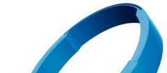 Пластиковое оголовье для наушников JBL T450BT голубые