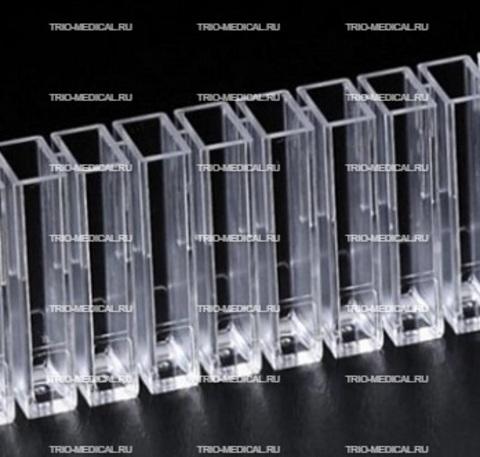 Кюветы для полуавтоматического коагулометра Амелунг KC- 1, KC- 4, KC- 8, 1уп/1000шт.