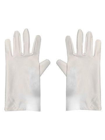 Перчатки многоразовые белые
