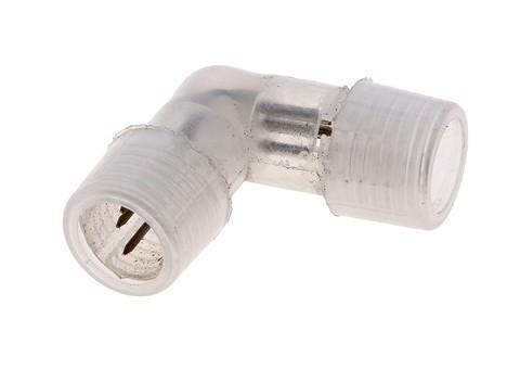 Коннектор L-образный для дюралайта,13 мм