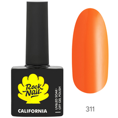 Гель-лак RockNail California 311 Little Tomato,...