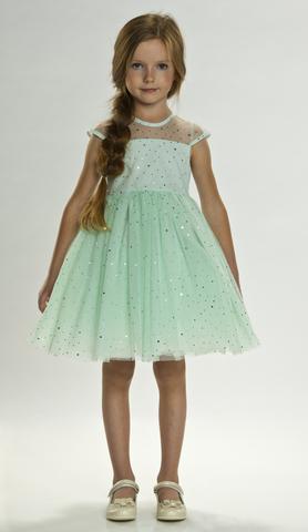 Нарядное платье для девочки (арт. QZ002)