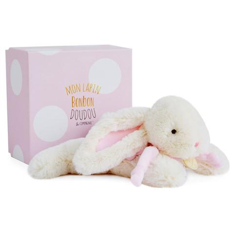 Doudou et Compagnie. Кролик нежно-розовый 25 см из коллекции BON BON