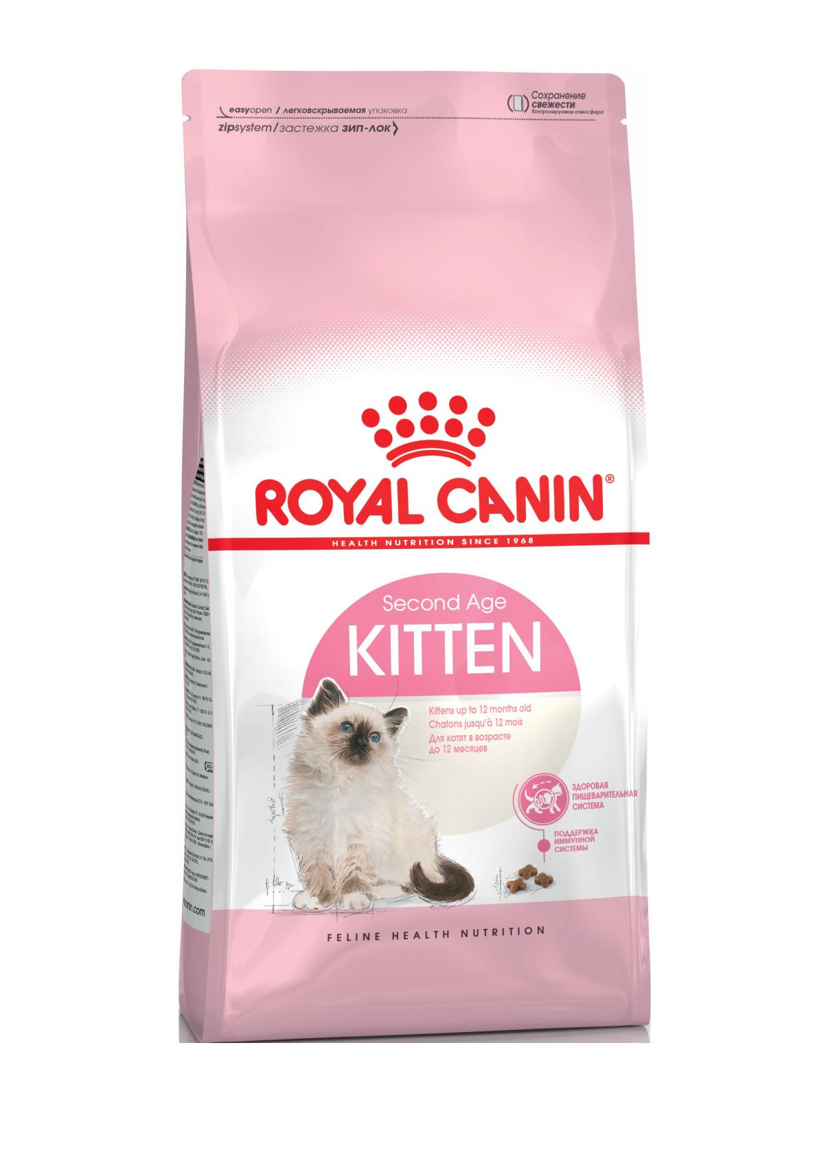 Сухой корм Корм для котят до 12 месяцев, Royal Canin Kitten 4627166861571_1.png