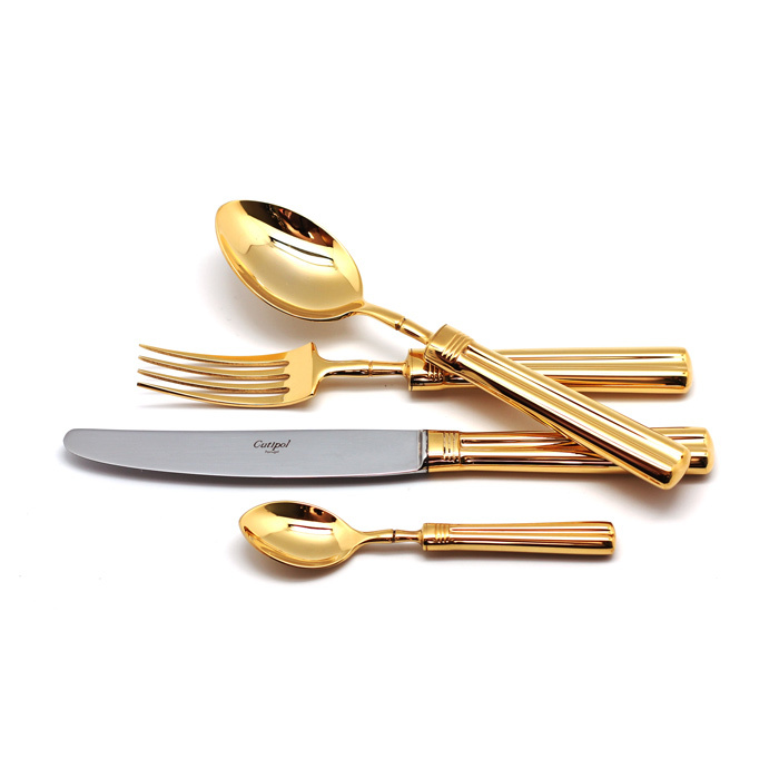 Набор полированный 24 пр FONTAINEBLEAU GOLD, артикул P1A.006.G, производитель - Cutipol