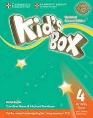 Kid's Box UPDATED Second Edition 4 Activity Boo...