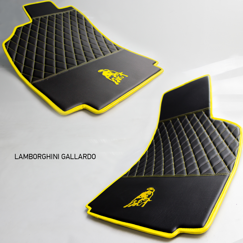Коврики из эко-кожи Vestis для Lamborghini