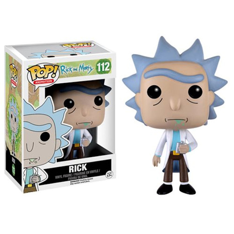 Rick Funko Pop! Vinyl Figure || Рик с флягой