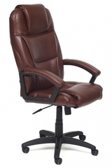 Кресло компьютерное Бергамо (Bergamo) — коричневый (2 TONE)