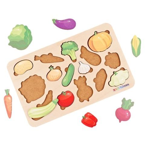 Рамка-Вкладыш Овощи RadugaKids (Радуга Кидс) RK1166