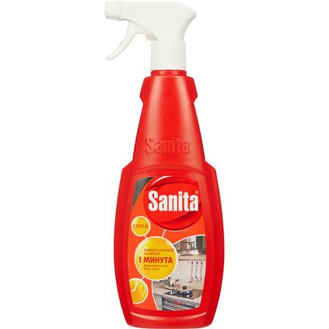 Чистящее средство для кухни Sanita 1 минута 500 мл