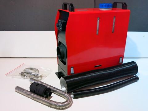 Автономный отопитель 12 вольт красный пульт A1