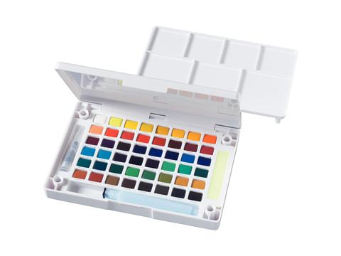 Набор акварельных красок Koi 48цв