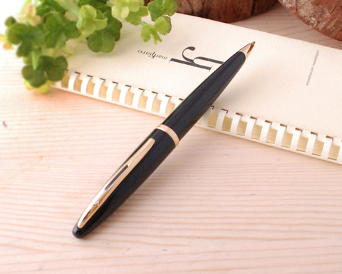 Шариковая ручка Waterman Carene, цвет: Black GT, стержень: Mblue123