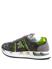Комбинированные кроссовки Premiata Conny 4504 на шнуровке