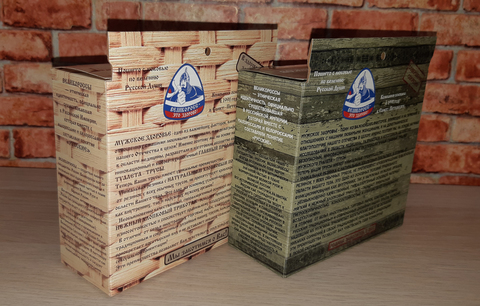"Men's boxers VELIKOROSS ""Brick wall"""