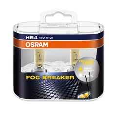 Лампа Osram HB4 Fog Breaker (2шт) DuoBox 12v-55w