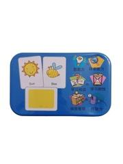 Развивающие и обучающие карточки SHAPES PUZZLE 30 карточек 30 заданий 30 слов Вариант 1 Серия Буквы и цифры в жестяной коробке