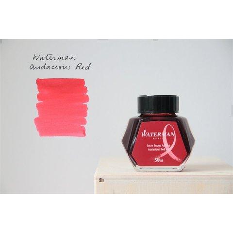 Чернила для перьевых ручек красные Waterman Ink Bottles Hexagonal123