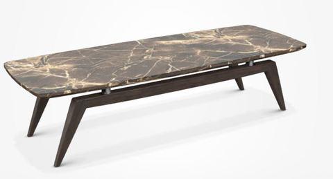 Кофейный стол из мрамора 108*38, Италия