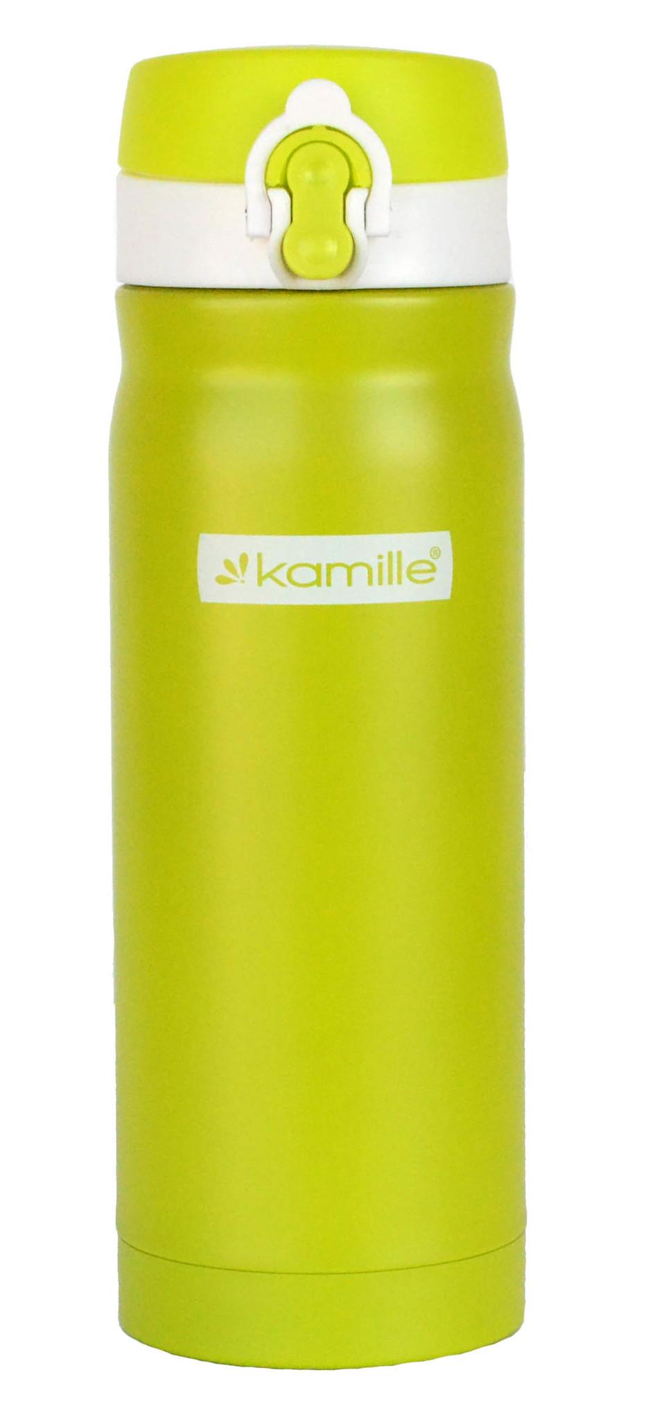 Термос-кружка Kamille 360 мл. зеленый